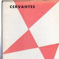 Libros de segunda mano: CERVANTES, NUMANCIA, OBRAS DEL TEATRO ESPAÑOL, EDITORIA NACIONAL, MADRID, 1969. Lote 29736220