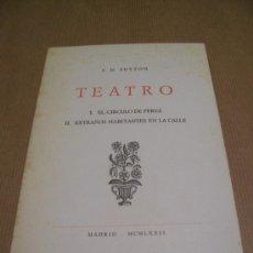 Libros de segunda mano: J. D. SUTTON - TEATRO - MADRID 1972 - EJEMPLAR NUMERADO 100. Lote 30077961