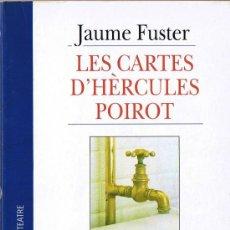 Libros de segunda mano: LES CARTES D'HÉRCULES POIROT - JAUME FUSTER - 1999 - EDICIONS 62 - EL CANGUR TEATRE. Lote 30098669
