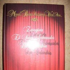 Libros de segunda mano: LOTE TEATRO ESPAÑOL – 3 LIBROS PRECINTADOS – TAPA DURA – AMANTES DE TERUEL - EL SEÑOR GOBERNADOR ... Lote 30446455