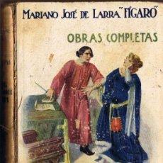 """Libros de segunda mano: EL DONCEL DE DON ENRIQUE EL DOLIENTE - MARIANO J. DE LARRA """"FÍGARO"""" - SOPENA. Lote 31129471"""