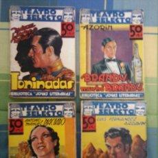 Libros de segunda mano: TEATRO SELECTO - LOTE DE 4 NOVELAS - BIBLIOTECA JOYAS LITERARIAS.. Lote 31165515