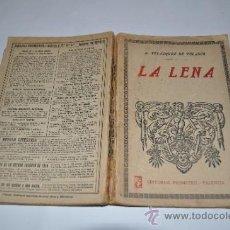 Libros de segunda mano: LA LENA A.VELÁZQUEZ DE VELASCO RM10076. Lote 31881820
