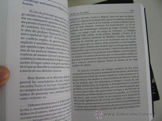 Libros de segunda mano: obras escogidas ricardo lopez aranda I y II,1998,asociacion autores de teatro ed, ref rr41 - Foto 5 - 32081821