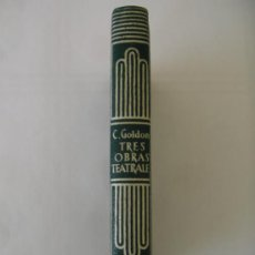 Libros de segunda mano: CRISOL AGUILAR Nº 215 CARLO GOLDONI TRES OBRAS TEATRALES. Lote 32696164