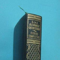Libros de segunda mano: TOMO I. OBRAS COMPLETAS. S. Y J. ÁLVAREZ QUINTERO. PLENA PIEL. 1947. Lote 32924095