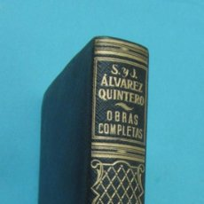 Libros de segunda mano: TOMO VI. OBRAS COMPLETAS. S. Y J. ÁLVAREZ QUINTERO. PLENA PIEL. 1949. Lote 32924226
