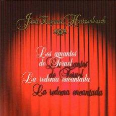 Libros de segunda mano: TEATRO ESPAÑOL-JUAN EUGENIO HARTZENBUSCH-2 OBRAS-LOS AMANTES DE TERUEL Y OTRA. Lote 32976854