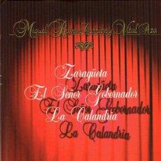 Libros de segunda mano: TEATRO ESPAÑOL-MIGUEL RAMOS CARRION Y VITAL AZA-3 OBRAS-LA CALANDRIA Y MAS... Lote 32976974