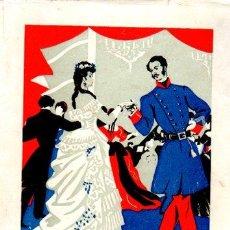 Libros de segunda mano: AGUSTÍN DE FOXÁ, BAILE EN CAPITANÍA, MADRID 1944, ALDUS, RÚSTICA, 161PÁGS, 14X20CM. Lote 33310839