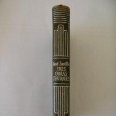 Libros de segunda mano: CRISOL AGUILAR Nº 177 JOSE ZORRILLA Y MORAL TRES OBRAS TEATRALES DON JUAN TENORIO,TRAIDOR INCONFESO . Lote 33413580
