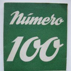 Libros de segunda mano: COLECCIÓN TEATRO Nº 100 - BUERO VALLEJO, CALVO SOTELO, LUCA DE TENA, M. MIHURA - ALFIL - AÑO 1954.. Lote 33540860