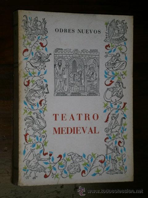 TEATRO MEDIEVAL POR FERNANDO LÁZARO CARRETER DE ED. CASTALIA EN MADRID 1965 2ª EDICIÓN (Libros de Segunda Mano (posteriores a 1936) - Literatura - Teatro)