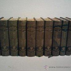Libros de segunda mano: JACINTO BENAVENTE, OBRAS COMPLETAS. 11 TOMOS, 1945-1958. M. AGUILAR EDITOR.. Lote 33765257