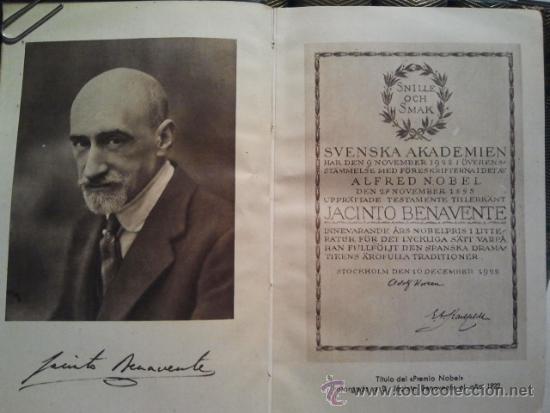 Libros de segunda mano: Jacinto Benavente, Obras Completas. 11 Tomos, 1945-1958. M. Aguilar editor. - Foto 2 - 33765257