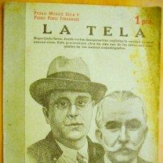 Libros de segunda mano: REVISTA LITERARIA- NOVELAS Y CUENTOS Nº841- 22 JUNIO 1947- MUÑOZ SECA Y PEREZ FERNÁNDEZ- LA TELA.. Lote 33881299