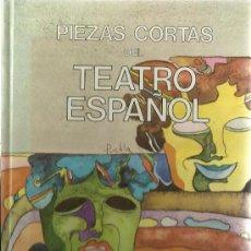 Libros de segunda mano: S2//TEATRO ESPAÑOL,PIEZAS CORTAS//. Lote 35991968