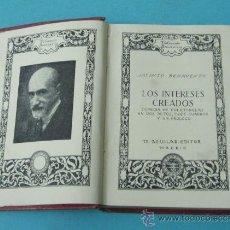 Libros de segunda mano: LOS INTERESES CREADOS. JACINTO BENAVENTE. COLECCIÓN BREVARIOS. Lote 246482390