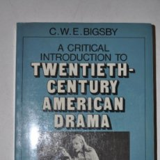 Libros de segunda mano: A CRITICAL INTRODUCTION TO TWENTIETH-CENTURY AMERICAN DRAMA. VOLUME TWO. TENNESSEE WILLIAMS, RM61574. Lote 36869454