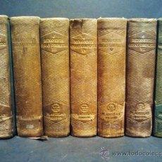 Libros de segunda mano: JACINTO BENAVENTE (NOBEL LITERATURA EN 1922). OBRAS COMPLETAS. TOMO DEL 1-7. AGUILAR, MADRID 1940.. Lote 37190860