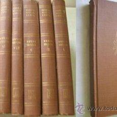 Libros de segunda mano: OBRAS COMPLETAS (8 VOLÚMENES) GARCÍA LORCA, FEDERICO. 1946. LOSADA. Lote 38565471