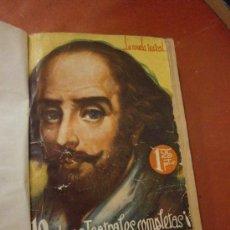 Libros de segunda mano: 10 OBRAS TEATRALES COMPLETAS. PÉREZ LUGÍN - LINARES RIVAS - MARQUINA - PERRÍN Y PALACIOS.... Lote 39144089