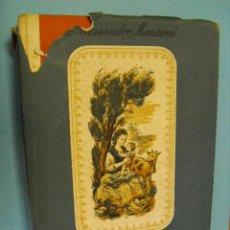 Libros de segunda mano: LOS NOVIOS, DE ALESSANDRO MANZONI,1943,EDICIONES LAURO. Lote 39457290
