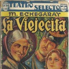 Libros de segunda mano: LA VIEJECITA. M. ECHEGARAY. EDITORIAL CISNE. BARCELONA. 1941. Lote 39502476