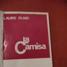 Libros de segunda mano: COLECCION TEATRO Nº 540. LA CAMISA. LAURO OLMO. EDIITORIAL ESCELICER, SA. 5ª ED. MADRID. 1970.. Lote 39602777
