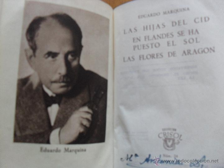 LAS TRES COMEDIAS, EDUARDO MARQUINA, CRISOL AGUILAR 1943 (Libros de Segunda Mano (posteriores a 1936) - Literatura - Teatro)