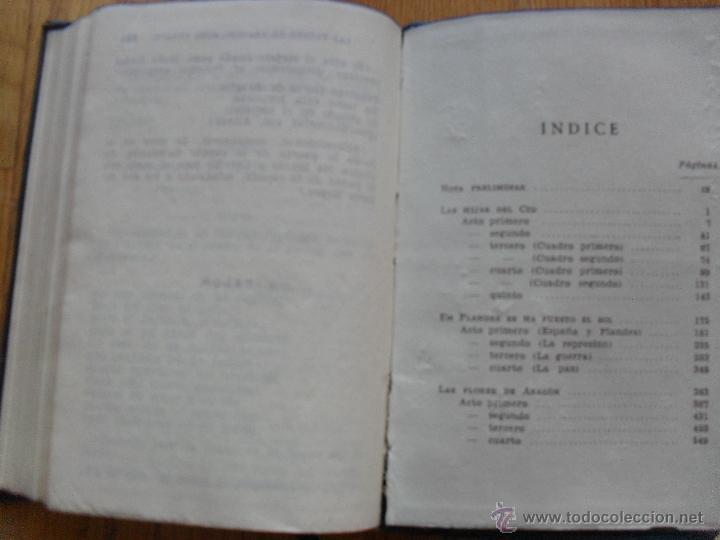 Libros de segunda mano: LAS TRES COMEDIAS, Eduardo Marquina, Crisol Aguilar 1943 - Foto 3 - 39789309