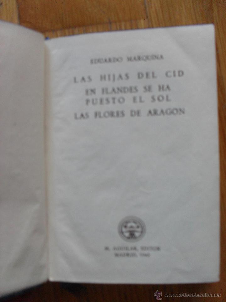 Libros de segunda mano: LAS TRES COMEDIAS, Eduardo Marquina, Crisol Aguilar 1943 - Foto 4 - 39789309