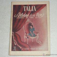 Libros de segunda mano: SOLEDAD DE UN TRONO.. Lote 39860803