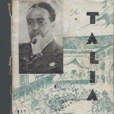 Libros de segunda mano: ADOLFO TORRADO ESTRADA, EL FAMOSO CARBALLEIRA, TALIA,AÑO I,1940 Nº5 MADRID. Lote 39864447