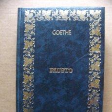 Libros de segunda mano: LIBRO FAUSTO - GOETHE - EDICIONES OCEANO 1982. Lote 40025181