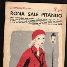 Libros de segunda mano: RONA SALE PITANDO, DE J.JEFFERSON FARJEON. Lote 40675655