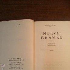 Libros de segunda mano: NUEVE DRAMAS. EUGENE O´NEILL. 1955. DOS TOMOS.. Lote 41846320
