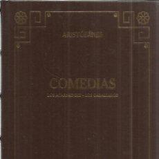 Libros de segunda mano: COMEDIAS. LOS ACARNIENSES. LOS CABALLEROS. ARISTÓFANES. GREDOS. MADRID. 2000. Lote 41993661