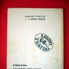Libros de segunda mano: PROCESO ANATEMATIZACIÓN Y QUEMA DE UNA BRUJA EN UN ENSAYO GENERAL R PINILLA JJR BILBAO. Lote 42071637