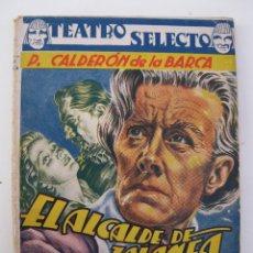 Libros de segunda mano: TEATRO SELECTO - ESPECIAL CLÁSICOS Nº 1 - EL ALCALDE DE ZALAMEA - CALDERÓN DE LA BARCA - CISNE.. Lote 42109237