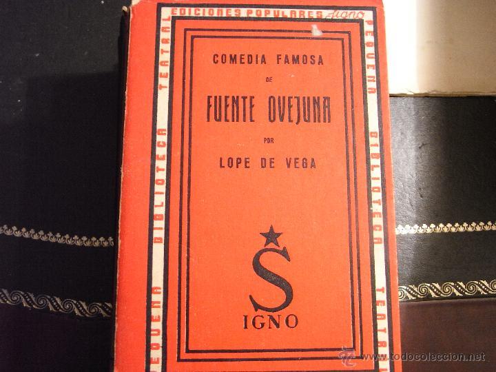FUENTE OVEJUNA. LOPE DE VEGA. (Libros de Segunda Mano (posteriores a 1936) - Literatura - Teatro)