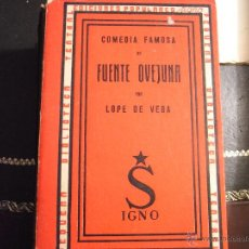 Libros de segunda mano: FUENTE OVEJUNA. LOPE DE VEGA.. Lote 42166803