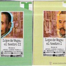 Libros de segunda mano: LOPE DE VEGA: EL TEATRO. 2 TOMOS. EDICIONES TAURUS. MADRID. 1989.. Lote 42280059