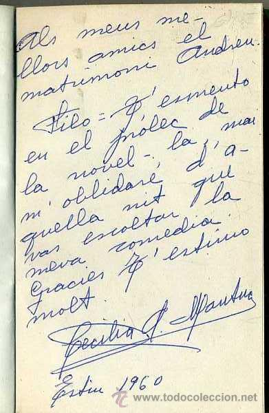 Libros de segunda mano: CECILIA MANTUA : LA PEPA MACA (MILLÀ, 1960) - CON AUTÓGRAFO DE LA AUTORA - Foto 2 - 42828826