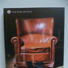 Libros de segunda mano: RIGOLETTO - GRAN TEATRE DEL LICEU 2004 - 2005. Lote 42911584