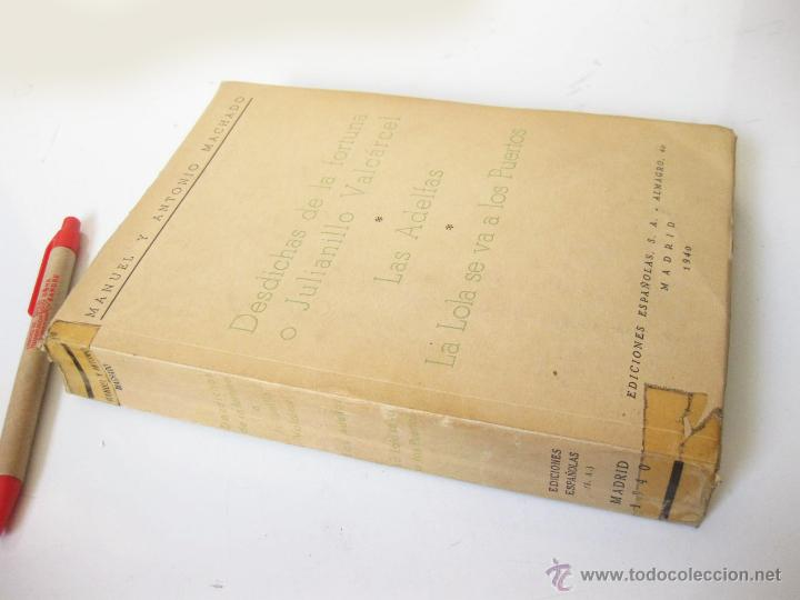 Libros de segunda mano: DESDICHAS DE LA FORTUNA O JULIANILLO VALCARCEL - LAS ADELFAS - LA LOLA SE VA A LOS PUERTOS. 1940 - Foto 2 - 43140758
