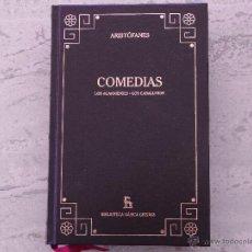 Libros de segunda mano: COMEDIAS. ARISTÓFANES. (LAS ACARNIENSES. LOS CABALLEROS). Lote 43476895
