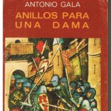 Libros de segunda mano: ANILLOS PARA UNA DAMA. ANTONIO GALA. BIBLIOTECA JUCAR 1983. (C/A2). Lote 43869262