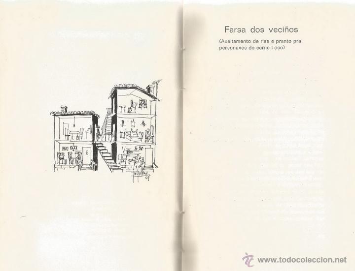 Libros de segunda mano: RAMÓN GONZÁLEZ-ALEGRE. Teatro Galego. RM65920. - Foto 3 - 44131312