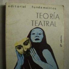 Libros de segunda mano: TEORÍA TEATRAL. MEYERHOLD, V. 1982. . Lote 44850749